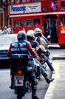 Motorcycle couriers 1986