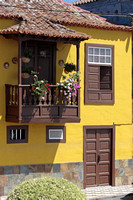 Colorful housefront