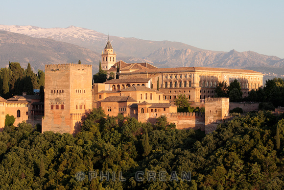 The Alhambra from Mirador San Nicolas Granada
